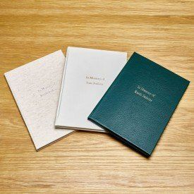 Memorial Books For Funerals