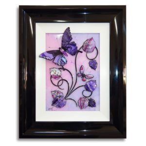 Butterfly - Purple, Pink and Lilac