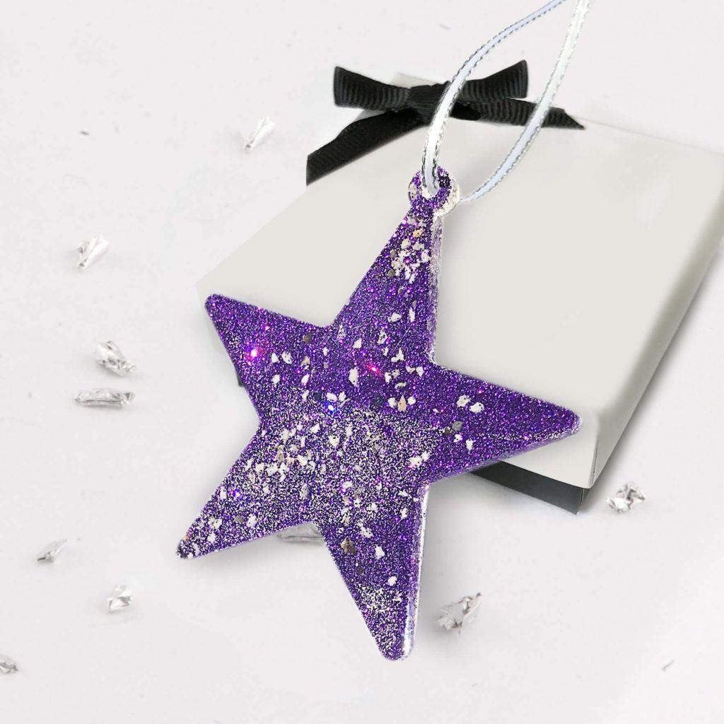Christmas Tree Star - Deep Purple