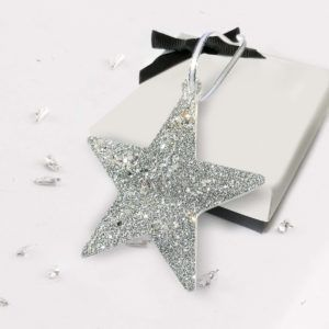 Christmas Tree Star - Silver