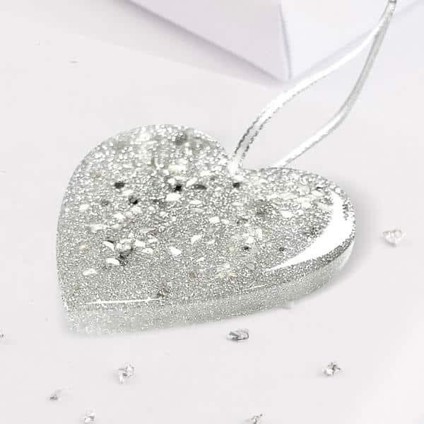 Christmas Tree Heart Decoration