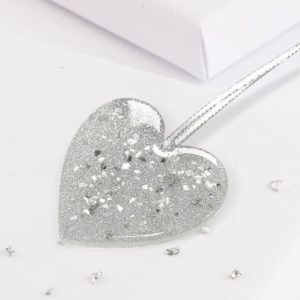 Christmas Tree Heart Decoration