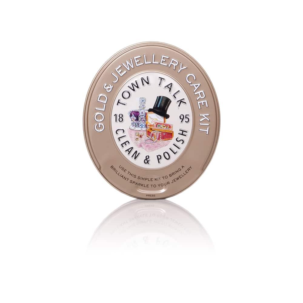 Gold Jewellery Care Kit Tin