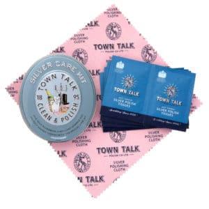 Silver Jewellery Care Kit Tin