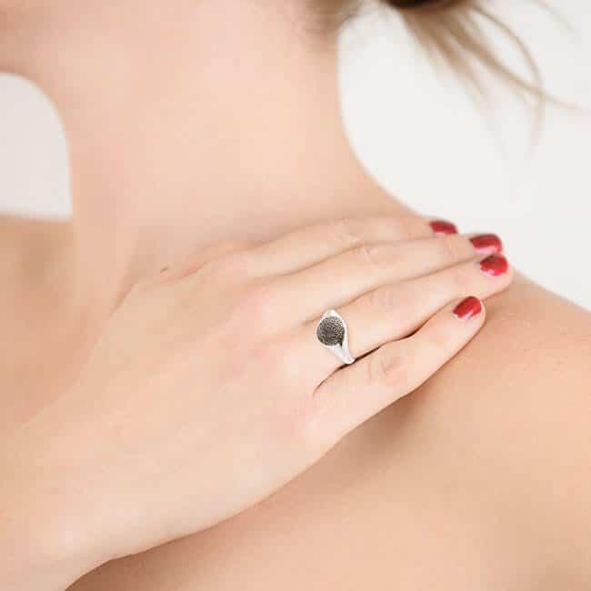 Fingerprint Signet Ring