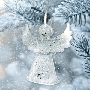 Angel Tree Decoration, Ashes or Hair.