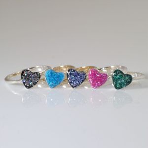 Eternity Crystallure Heart Memorial Ring